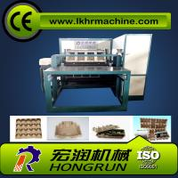 China Egg Tray Production Line , Rotary Type Pulp Molding Machine 6000PCS/H egg carton forming machine on sale