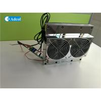 Wholesale TEC Peltier Thermoelectric Cooler / Thermoelectric Air Conditioner With Controller For Cabinet from china suppliers