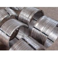 Buy cheap Industrial 321 Stainless Steel Forgings , Forged Rolled Rings ASTM JB4728 DIN EN from wholesalers
