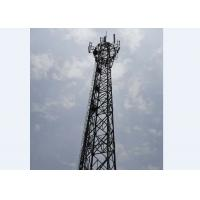 Buy cheap 4 Legged Ground Based Telecom Towers Heavy Duty  Lattice Steel Towers from wholesalers