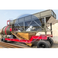 Buy cheap Precast Cement Sand 35m3 Concrete Mixing Plant Mobile Drum Mix Plant from wholesalers