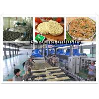 Buy cheap Instant Automatic Noodle Making Machine For Fried and frying noodle production line from wholesalers