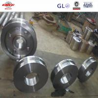 Buy cheap Q345/40Cr Wire Rope Pulley Wheels Crane Sheaves Crane Wheel Block from wholesalers