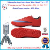 Buy cheap men's fashion outdoor PVC soccer shoes moulds, PVC sport running shoes moulds, PVC sneaker from wholesalers