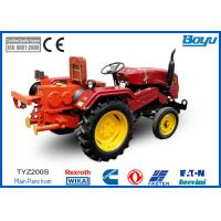 Buy cheap 252 / 320mm Bull Wheel Tractor pulling machine 41 kN With 6 Groove Max steel rope 13mm from wholesalers