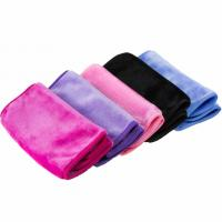 Buy cheap Soft microfiber deep cleaning makeup remover towel from wholesalers