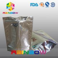 Buy cheap Standing Aluminum Foil Pouch For Supplement / Foil Doypack With Zipper from wholesalers