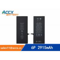 Wholesale ACCX brand new high quality li-polymer internal mobile phone battery for IPhone 6Puls with high capacity of 2915mAh 3.8V from china suppliers