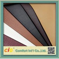 1.37m Width Synthetic PU Leather Fabric , Fake Leather Material For Sofa / Backpack Manufactures
