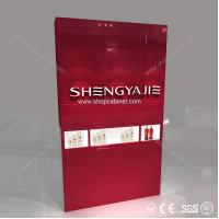 Buy cheap high end brand cosmetic showcase for shopping mall from wholesalers