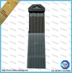 Aluminum Welding Electrode WC20 Tig Welding 1.6*150mm Tungsten Welding Rod Manufactures