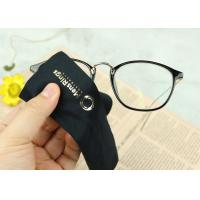 Buy cheap Eco Friendly Microfiber Glasses Cloth Needle 1 And 2  Bronzing Printing from wholesalers