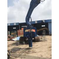 Buy cheap Multipurpose Hydraulic Pile Driver , Hydraulic Hammer Piling Machine from wholesalers