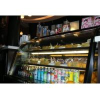 Buy cheap 3 Layer Black Cake Display Cases Freezer 110v / 60hz 2000 * 730 * 1250 from wholesalers