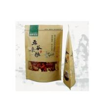 High quality self standing bag for food packaging,paper zip lock bag for food,frozen food packaging bag Manufactures