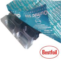 Buy cheap Pharmaceutical aluminum foils for tablet/pill/capsule foil lid packaging from wholesalers