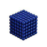 Buy cheap Kellin Neodymium Magnetic Balls Blue Coated Colorful 5mm Magnetic Balls 216pcs Spheres from wholesalers