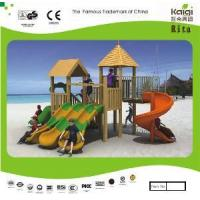 Buy cheap Wooden Playground (KQ10152A) product
