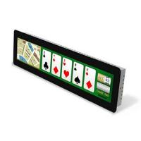Buy cheap Small Size Casino Screen Play Tracking Screen 6.86'' Bar Type Display from wholesalers