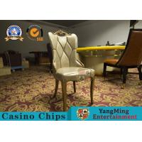 Buy cheap Restaurant / Living Room Simple PU Leather Casino Gaming Chairs With Solid Wood Frame Korean  Hotel from wholesalers