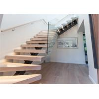 Buy cheap China Manufacturer Modern Steel Stairs / Stainless Steel Railing Mono Beam Staircase from wholesalers