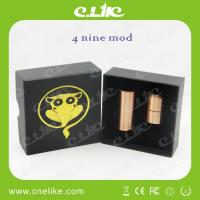 Quality Mechanical Stainless Steel 4nine copper mod Clone 26650 battery mod for sale
