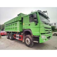 Buy cheap Green 10 Wheel RHD 20 Ton Dump Truck SINOTRUK Brand With German ZF8118 Steering from wholesalers