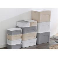 Buy cheap different size pp plastic storage box with lid plastic box for household storage from wholesalers