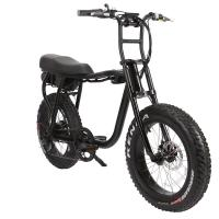 Buy cheap BAOGL/20 inch 2 seats electric bicycle 48V 500w 750w 1000w super electric bike fat from wholesalers