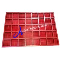 Buy cheap Rectangle Polyurethane Screen Panels For Mine Coal Stone Crusher from wholesalers