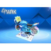 Buy cheap 150W Kiddie Ride On Motorcycle Crazy Racing Car Game Machine 4 Simultaneous Wifi Online Games from wholesalers
