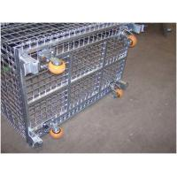 Buy cheap Heavyweight Loads Wire Folding Bulk Containers For Warehouse Storage And Handling from wholesalers