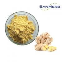 Buy cheap Pure Nature Ginger Root Extract Powder , Zingiber Officinale Rosc Bulk from wholesalers
