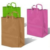 Buy cheap custom size paper belt handle bags from wholesalers