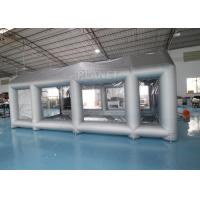 Buy cheap Silver 7m length Larger Car Painting Inflatable Spray Booth With Filter For Car Workstation from wholesalers