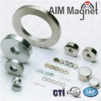 Buy cheap Ring Sintered NdFeB magnets neodymium magnet, rare earth ndfeb magnet from wholesalers