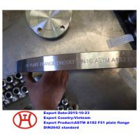 Buy cheap UNS S31803 1.4462 ASTM A182 F51 plate flange from wholesalers