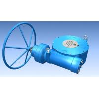Buy cheap Quarter Turn Gearbox Plug Valve Multi Stage Gear Operator for ball valve from wholesalers