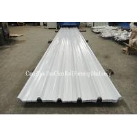 Buy cheap Hydraulic Corrugated Panel Metal Roll Forming Machine , Roofing Sheets Manufacturing Machine from wholesalers