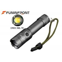 Adjustable CREE T6 LED Torch Water Resistant for Outdoor Camp, Cycling, Hunting Manufactures