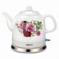 Buy cheap 1.2L Ceramic Electric Kettle with LCD Control Panel from wholesalers