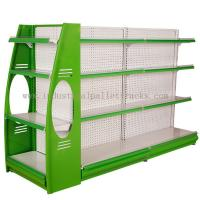 Buy cheap Stores Supermarket Shelves Commercial Storage Rack Green / Grey / Orange / Pink / Blue from wholesalers
