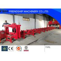 Buy cheap Semi Trailer Chassis Beam Welding Line Trailer Beam Hydraulic Assembly Table from wholesalers