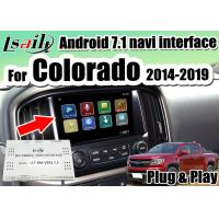 Buy cheap 32G ROM Multimedia Video Interface For Chevrolet Colorado 2014-2018 support display two pictures in the same screen from wholesalers