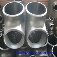Wholesale Stainless Steel Pipe Tee A403 Wp304L Straight Tee Asme B16.9 Size 1/2 - 60 inch from china suppliers