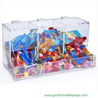 Buy cheap Acrylic Candy Box Candy Bin Candy Display Bulk Candy Display Case for Retail Store or Supermarket from wholesalers