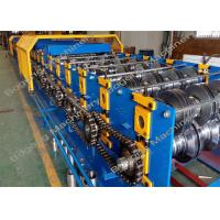 Buy cheap Cr12 Balde Floor Deck Roll Forming Machine 10 - 12m / Min Speed High Performance from wholesalers