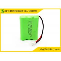 Buy cheap Long Service Life 3.6 V NIMH Battery Pack 3.6 Volt 800mah Phone Battery from wholesalers