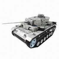 Buy cheap 1/16 Metal Panzer III Tank with Exceptional Dynamic Potential, Customized Requirements are Accepted from wholesalers