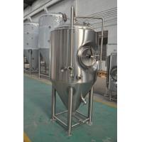 AISI 304 Stainless Steel Beer Fermenter With Jacketed For Brewery / Jacketed Fermentation Tank Manufactures
